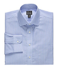 Traveler Tailored Fit Spread Collar Dress Shirt Big and Tall Sizes