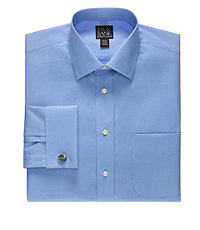 Executive Tailored Fit Spread Collar French Cuff Dress Shirt Big and Tall