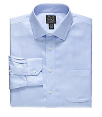 Signature Slim Fit Spread Collar Dress Shirt Big and Tall Sizes