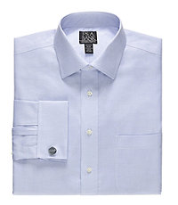 Signature Tailored Fit Spread Collar/French Cuff Dress Shirt Big and Tall