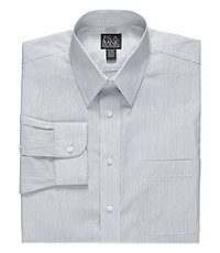 Traveler Slim Fit Point Collar Dress Shirt Big and Tall Sizes