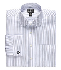 Signature Spread Collar French Cuff Dress Shirt Big and Tall