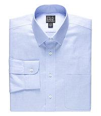 Traveler Slim Fit Long-Sleeve Dress Shirt Big and Tall