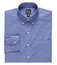 Traveler Slim Fit Long-Sleeve Buttondown Dress Shirt Big and Tall