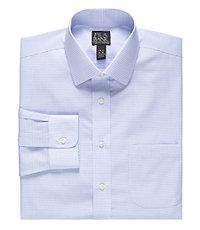 Traveler Slim Fit Long-Sleeve Spread Collar Dress Shirt Big and Tall