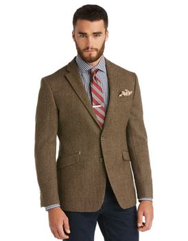 1905 Collection Tailored Fit Herringbone Sportcoat CLEARANCE - All ...