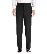 1905 Collection Tailored Fit Flat Front Tuxedo Separate Pants - Big & Tall