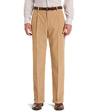 Executive Pleated Corduroy Pant CLEARANCE - All Clearance | Jos A Bank