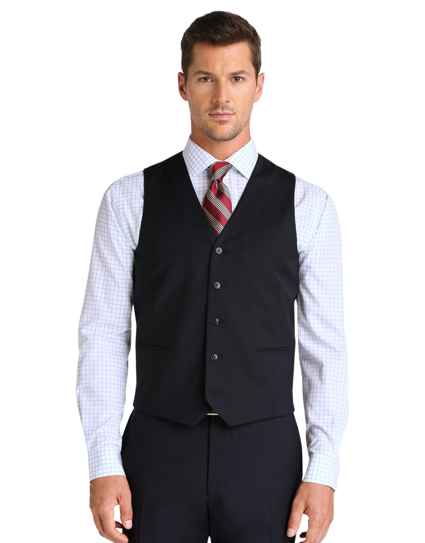 1905 Collection Slim Fit Suit Separate Vest - 1905 Suits | Jos A Bank