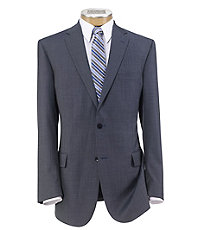 Traveler Tailored Fit 2-Button Suit with Plain Front Trousers Big/Tall