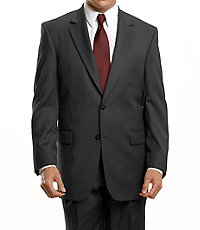 Signature 2-Button Wool Suit-Big and Tall
