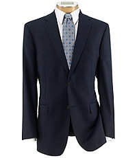 Signature Gold 2-Button Pleated Front Wool Suit Big and Tall