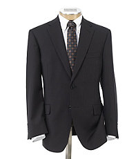 Signature 2-Button Tailored Fit Jacket Big and Tall