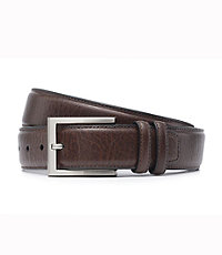 Pebble Grain Milled Belt Big and Tall