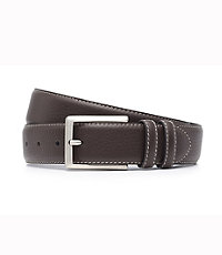 Contrast Stitch Belt Big and Tall