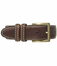 Contrast Stitch Casual Belt Big and Tall
