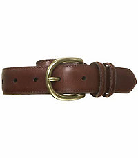 Saddle Stitch Casual Belt Big/Tall