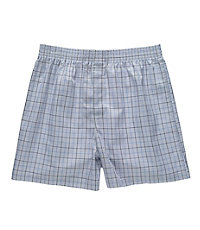 Glen Plaid with Windowpane Boxers Big/Tall