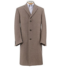 Merino Wool Topcoat Full Length Big and Tall Sizes $510.00 AT vintagedancer.com