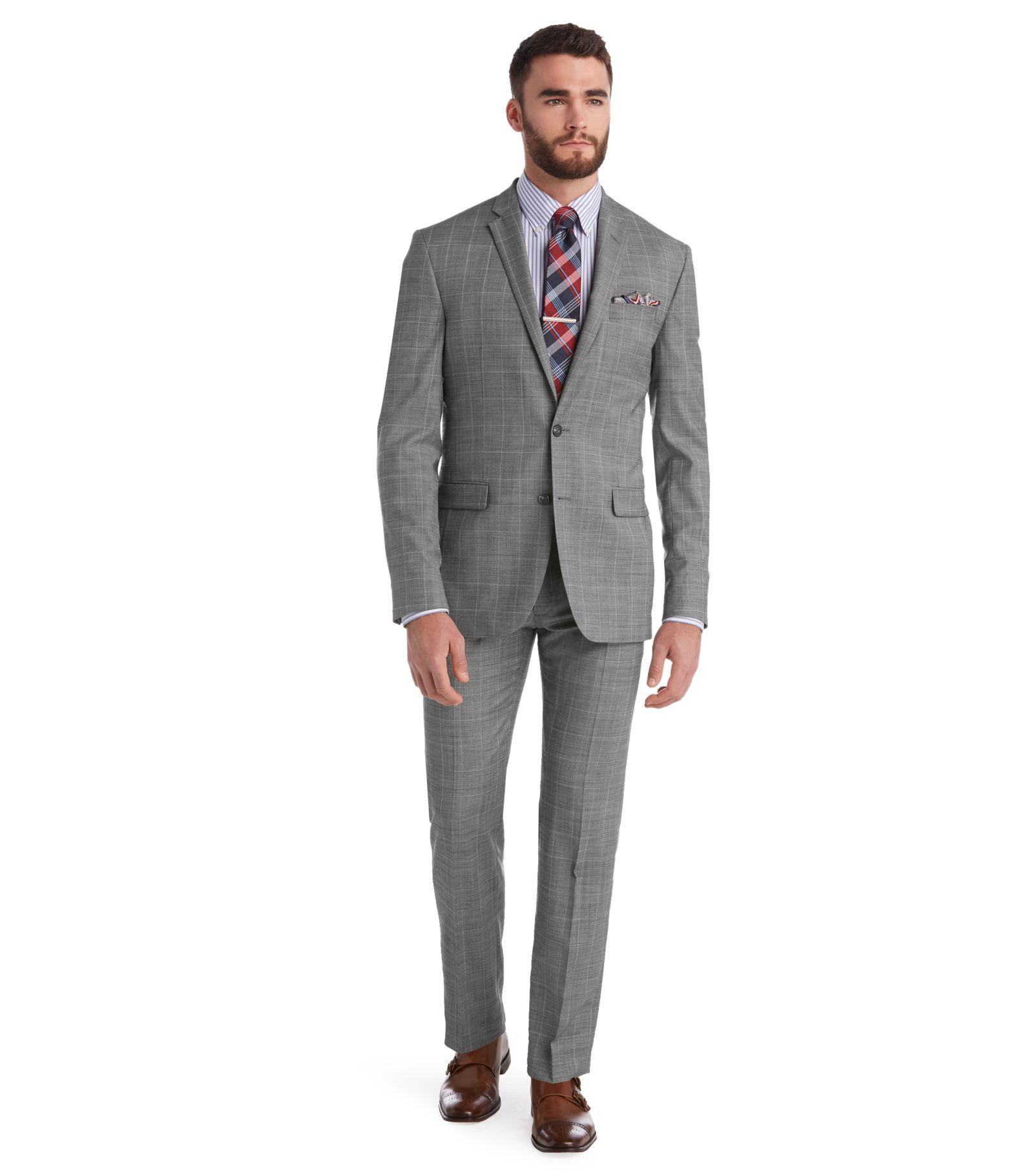 Grey Suit Skinny Dress Yy