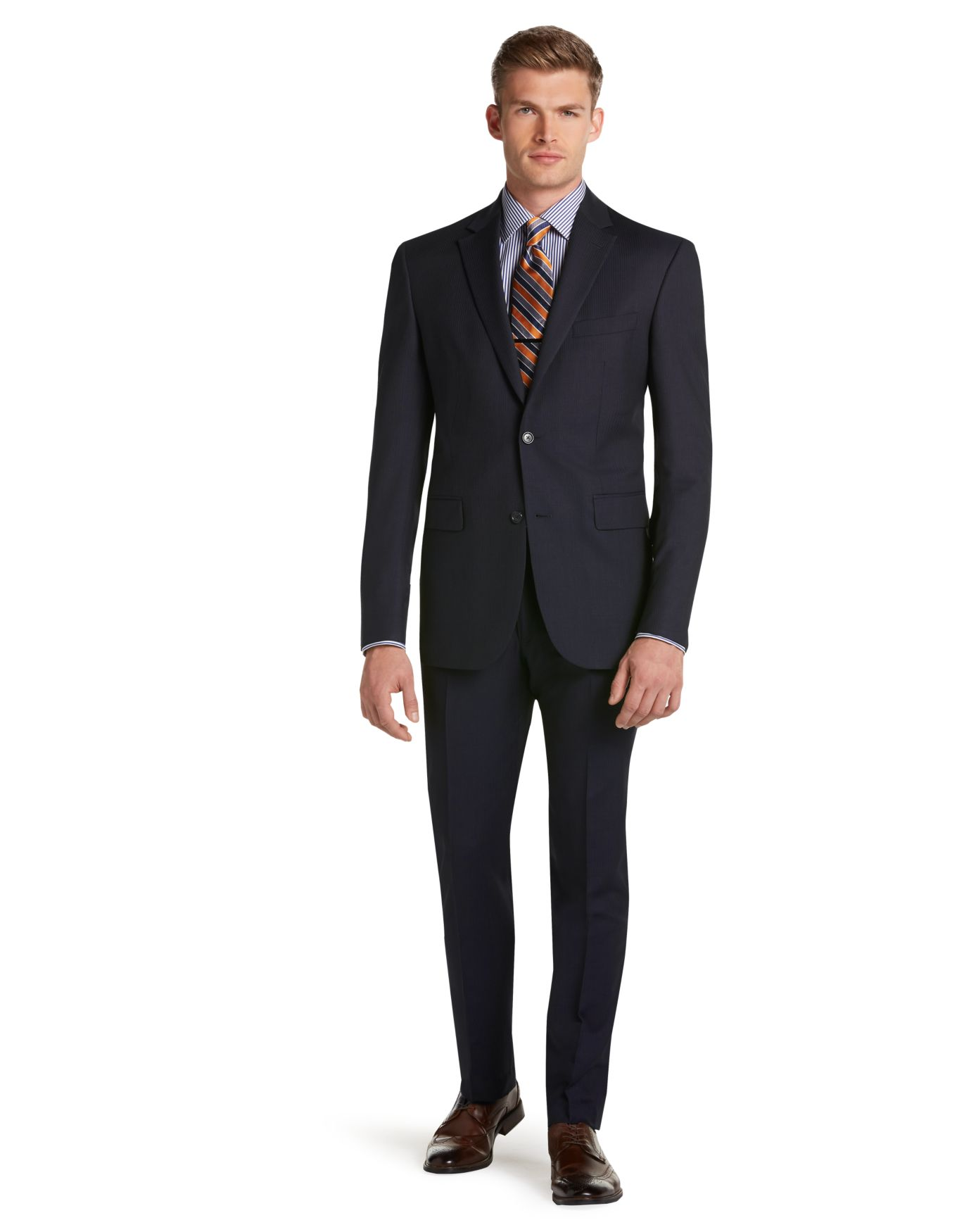 Labor day suit sale go suits for Jos a bank tailored fit vs slim fit shirts