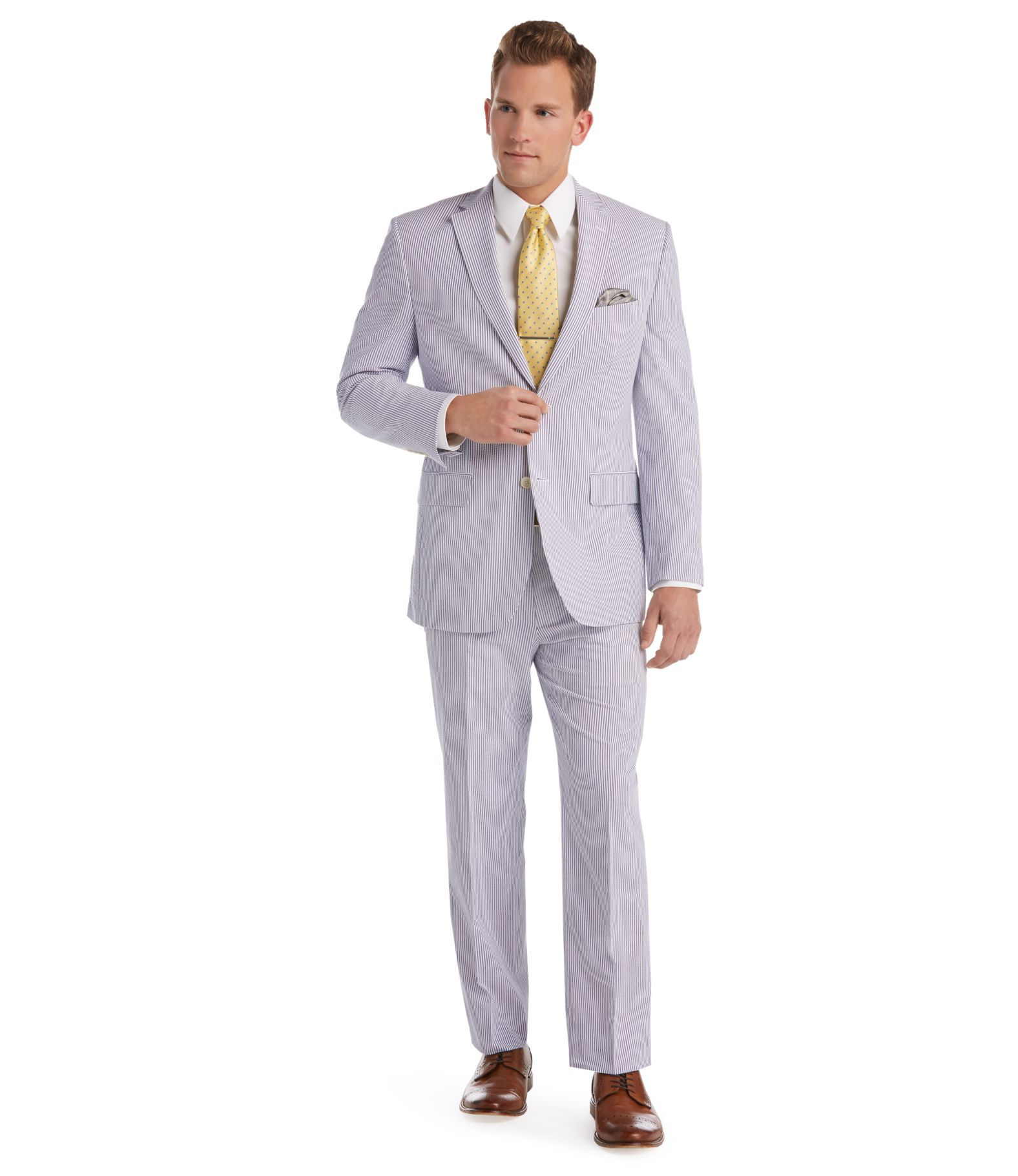Summer Weight, Lightweight & Linen Suits | Men's | JoS. A. Bank ...