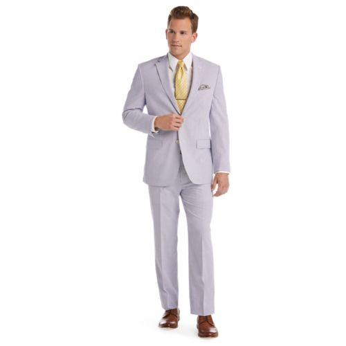 Executive Tailored Fit Seersucker Suit