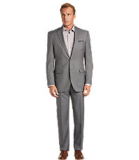 Signature Imperial Blend Collection Traditional Fit Micro Stripe Men's Suit