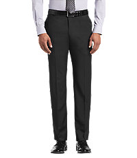 Reserve Collection Tailored Fit Flat Front Men's Suit Separate Pants
