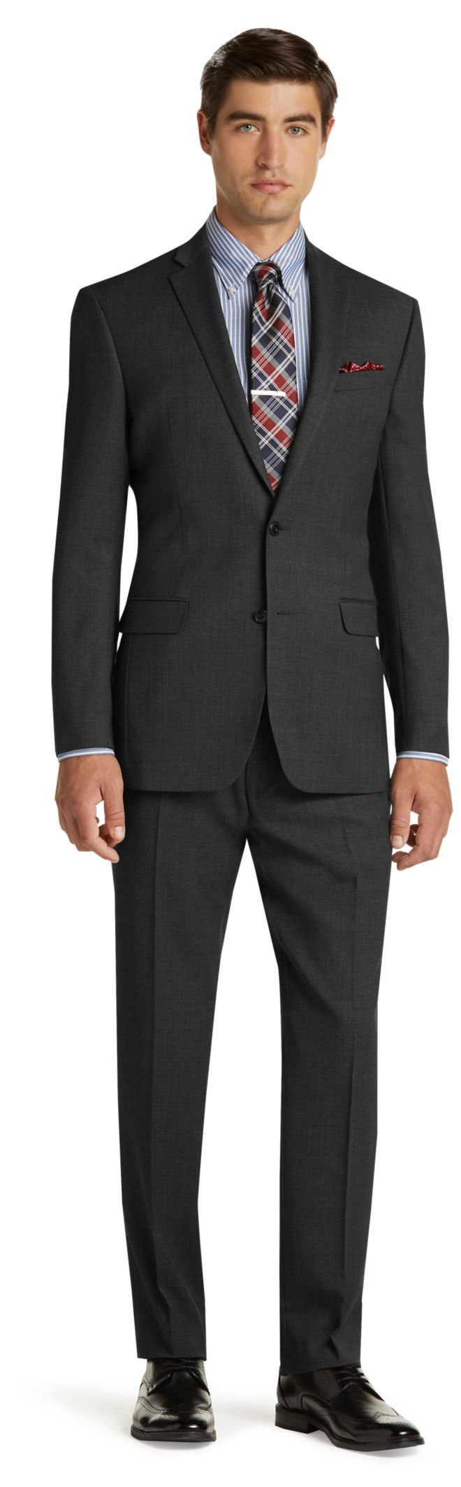 Fine Wool Slim Fit Suit - Men's Suits | JoS. A. Bank