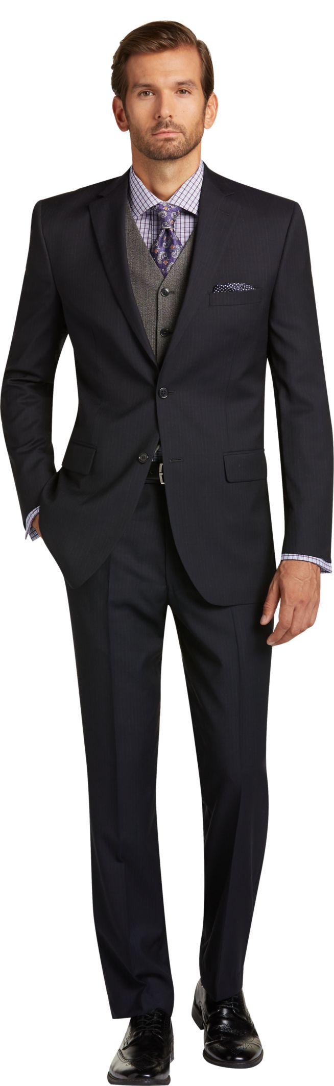 Tailored Fit Suits | Shop Tailor Fitted Men's Suits | JoS. A. Bank