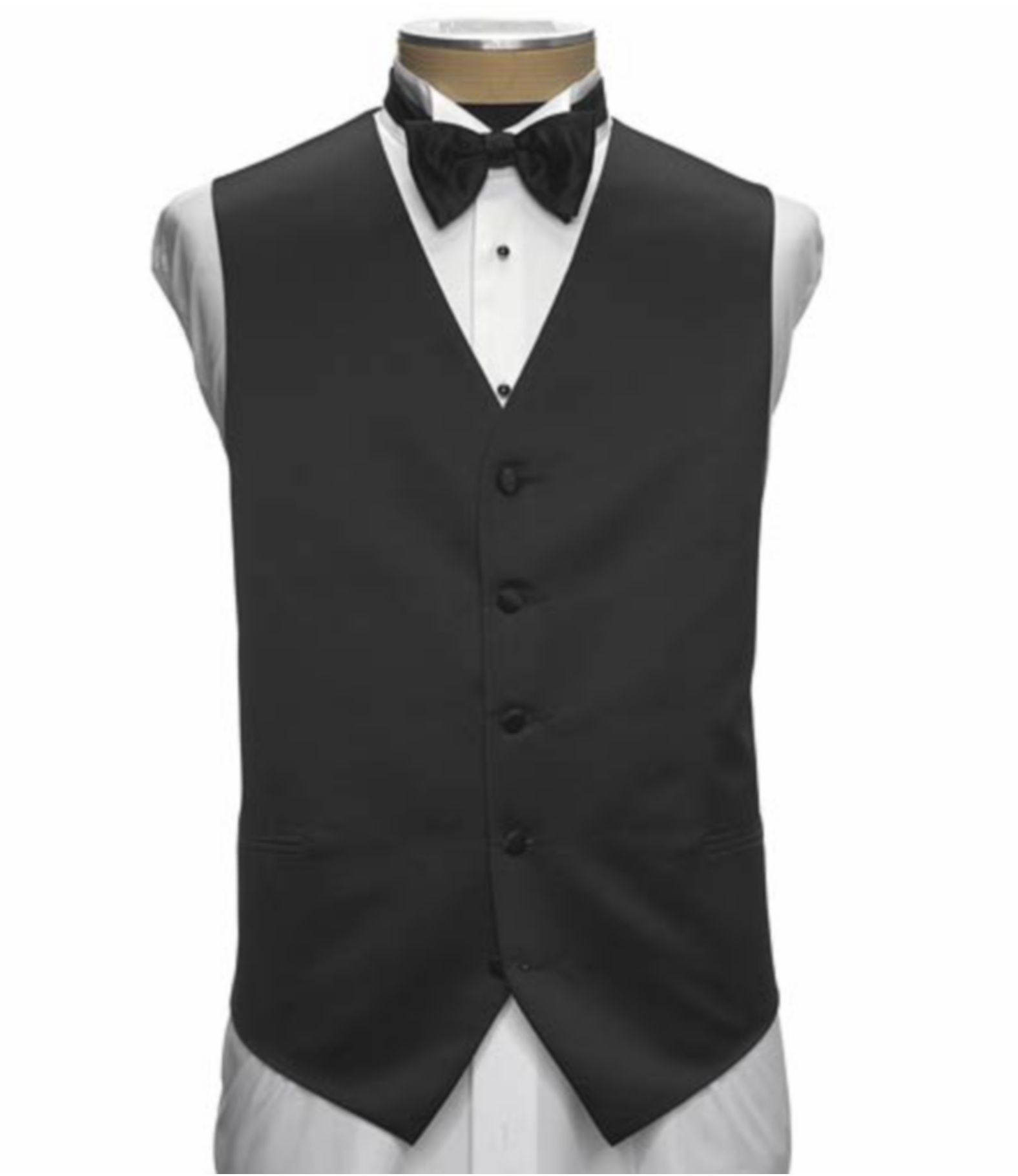 Men's Clearance, Jos A Bank Silk Formal Vest Clearance  Jos A Bank