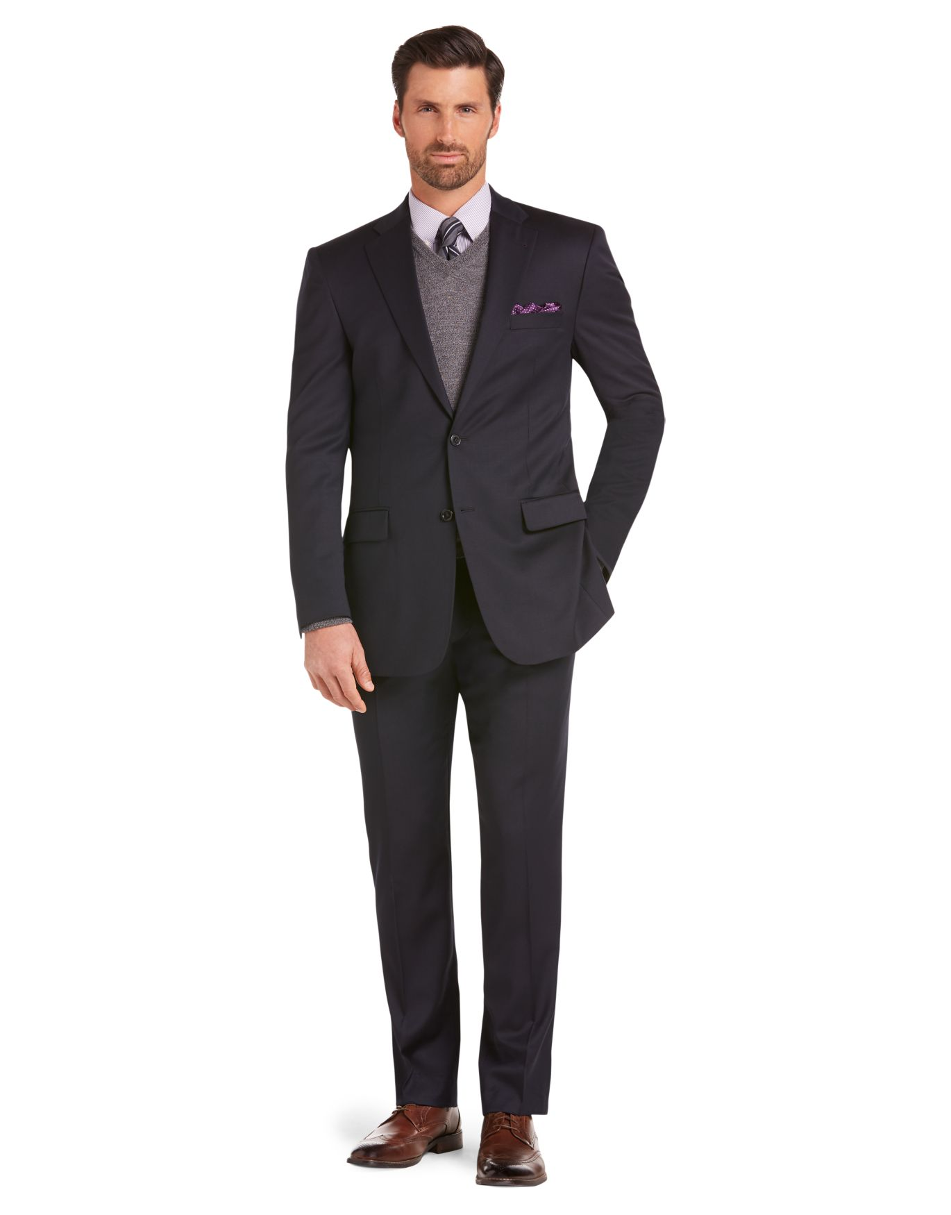 Signature Collection Tailored Fit Suit - Signature Suits | Jos A Bank
