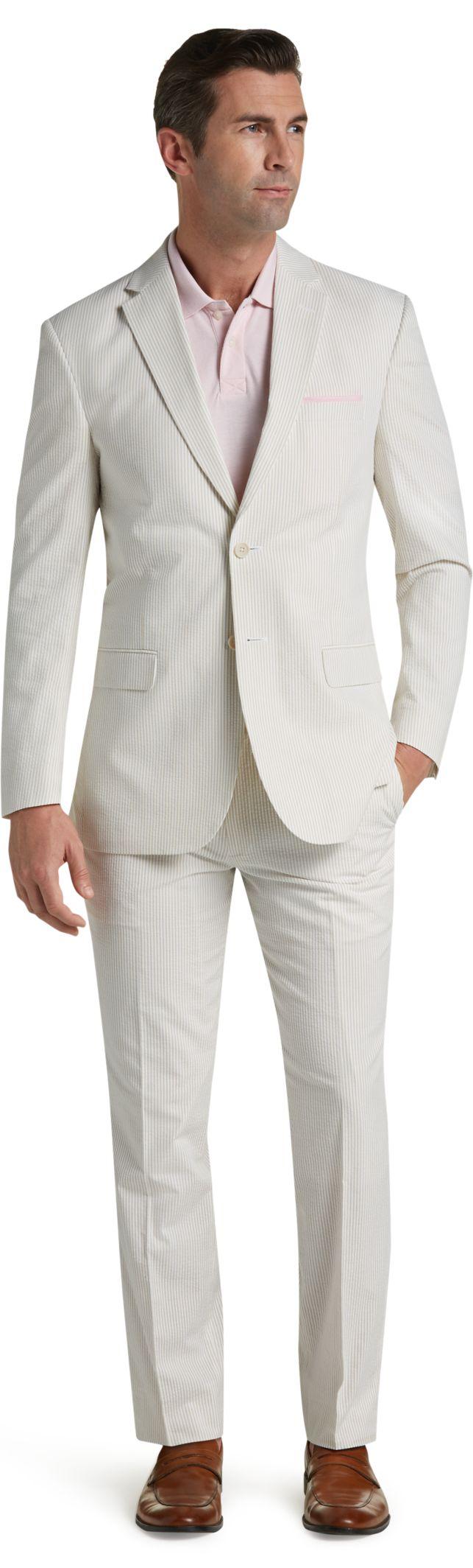 Summer Weight, Lightweight & Linen Suits | Men's | JoS. A. Bank ...