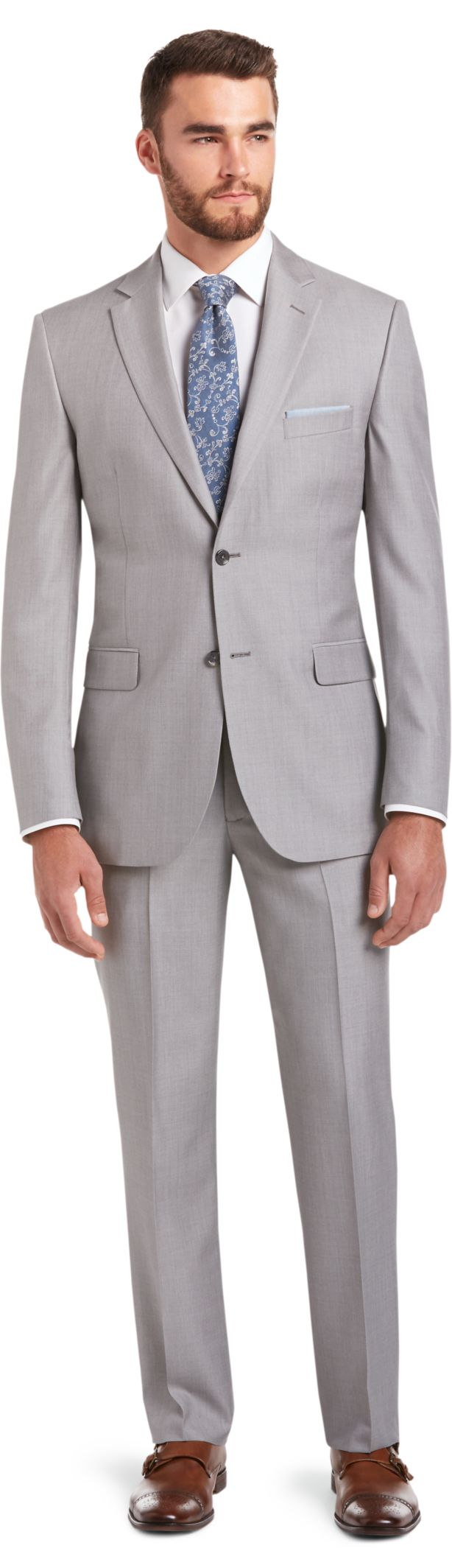 Signature Imperial Blend Collection Tailored Fit Suit - Suits ...