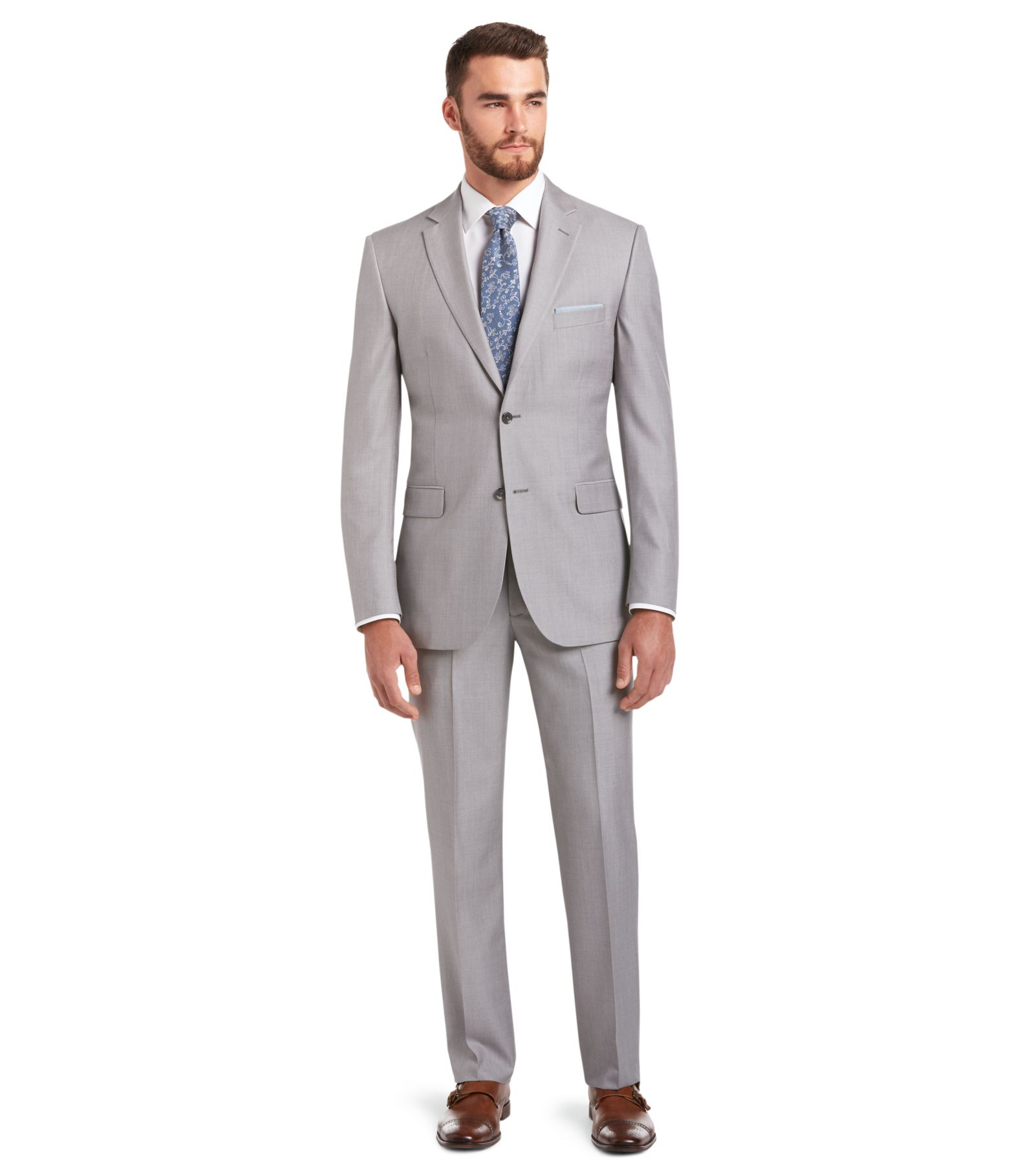 Signature Imperial Blend Collection Tailored Fit Suit - All Suits