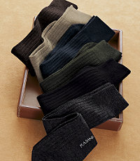 Merino Wool Mid-Calf Socks (Various Colors)