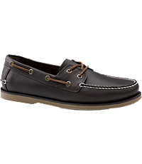 G.H. Bass Maxwell Boat Shoes Men's Shoes - 10 D Width, Chocolate