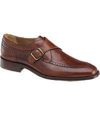 1940s Style Mens Shoes Johnston  Murphy Boydstun Monk Strap Shoes Mens Shoes -  $198.00 AT vintagedancer.com