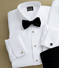 Signature Royal Oxford Point Collar Formal Dress Shirt