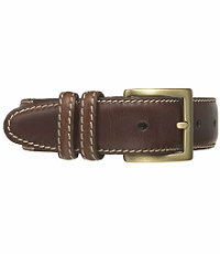 Contrast Stitch Casual Belt