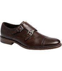 Joseph Abboud Glen Double Monk Strap Dress Shoes