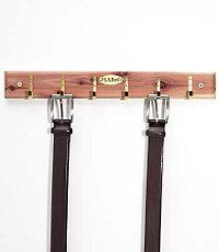 Cedar Belt Rack