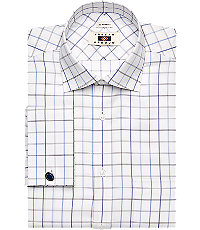 Joseph Abboud Traditional Fit Spread Collar Dress Shirt $99.50 AT vintagedancer.com