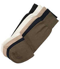 Pima Cotton Mid-Calf Socks