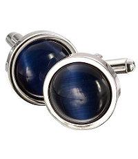 Classic Blue Catseye Cufflinks