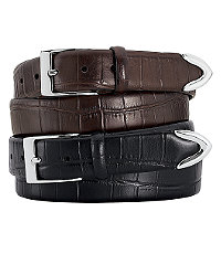 Matte Gator Casual Belt