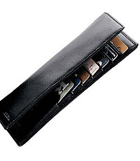 Leather Checkbook Organizer