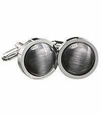 Classic Grey Catseye Cufflinks