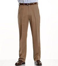 David Leadbetter's Plain Front Performance Golf Pants